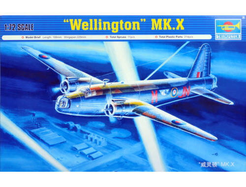 Trumpeter Vickers Wellington Mk X 1:72 (01628)