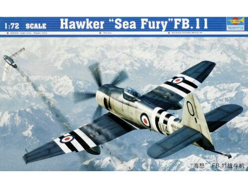 Trumpeter Hawker ''Sea Fury'' FB.11 1:72 (01631)