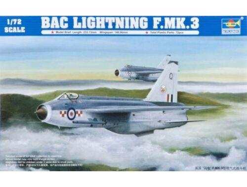 Trumpeter English Electric (BAC) Lightning F.MK3 1:72 (01635)