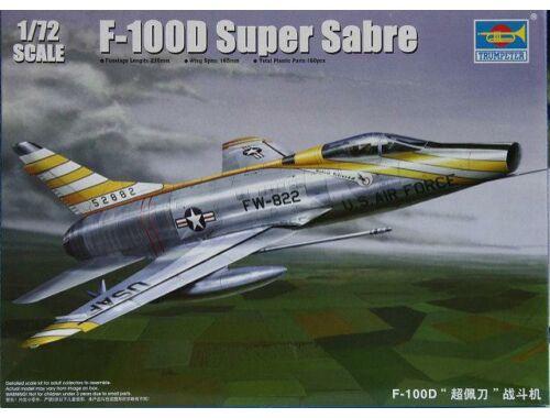 Trumpeter F-100D Super Sabre 1:72 (01649)