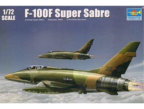 Trumpeter F-100F Super Sabre 1:72 (01650)