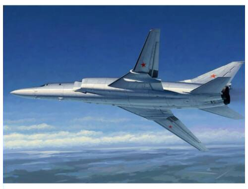 Trumpeter Tu-22M2 Backfire B Strategic bomber 1:72 (1655)