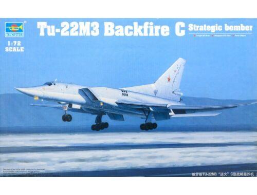 Trumpeter Tu-22M3 Backfire C Strategic bomber 1:72 (1656)