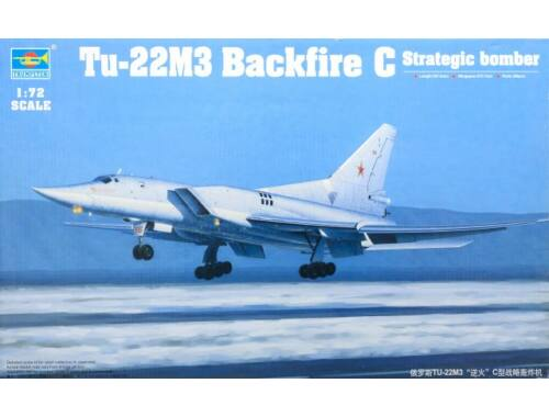 Trumpeter Tu-22M3 Backfire C Strategic bomber 1:72 (1656)