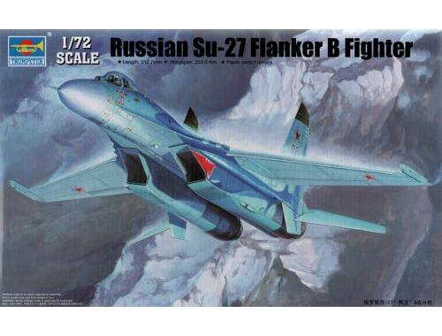 Trumpeter Russian Su-27 Flanker B Fighter 1:72 (01660)