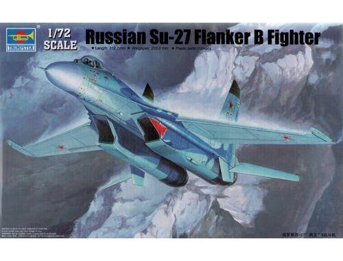 Trumpeter Russian Su-27 Flanker B Fighter 1:72 (1660)