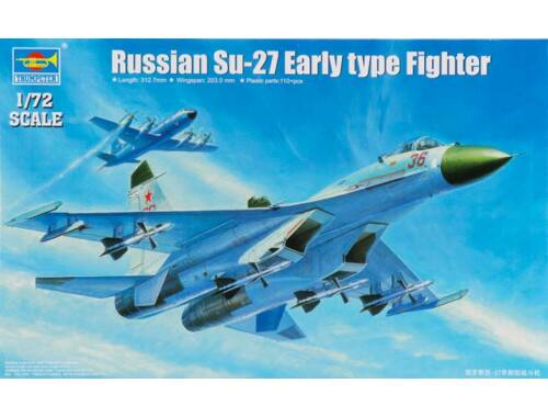 Trumpeter Russian Su-27 Early type Fighter 1:72 (1661)