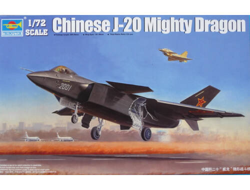 Trumpeter Chinese J-20 Fighter 1:72 (01663)