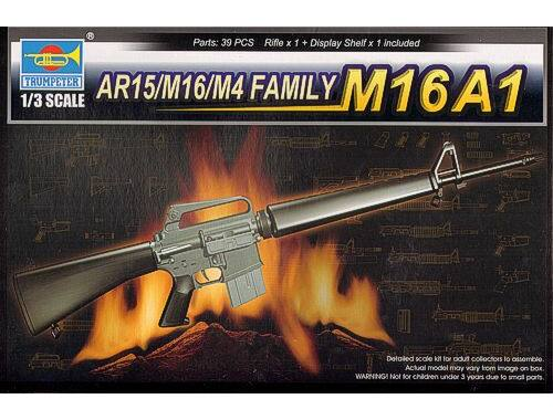 Trumpeter AR15/M16/M4 FAMILY-M16A1 1:3 (1903)