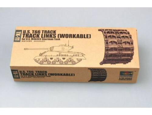 Trumpeter U.S. T66 M4A3E8 Sherman Workable track 1:35 (2041)