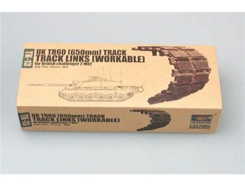 Trumpeter UK TR60 Challenger 2 (650mm Workable track 1:35 (2043)