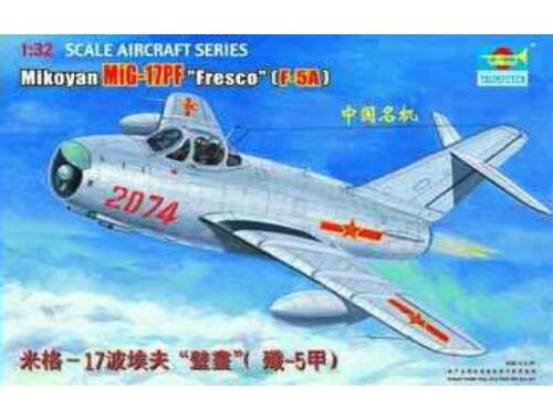 Trumpeter MiG-17 PF Fresco 1:32 (2206)