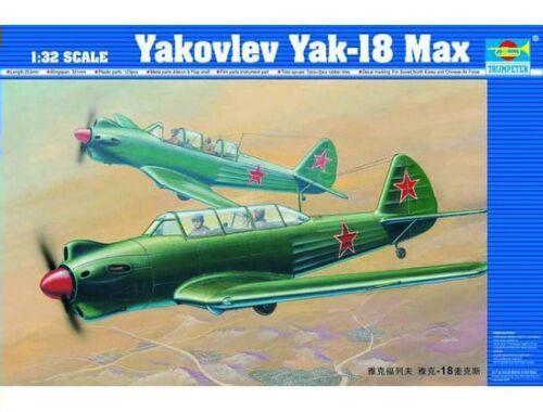 Trumpeter Jakovlev Jak-18 Max 1:32 (02213)