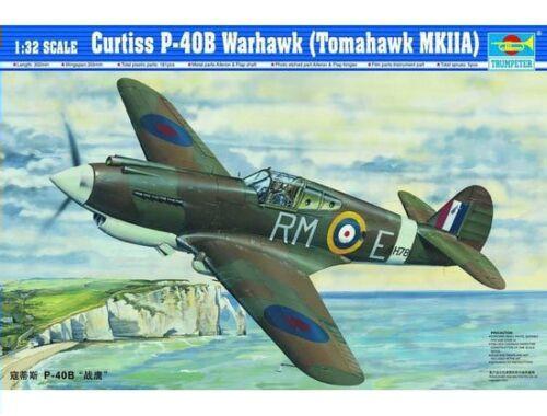 Trumpeter Curtiss P-40B Warhawk 1:32 (02228)