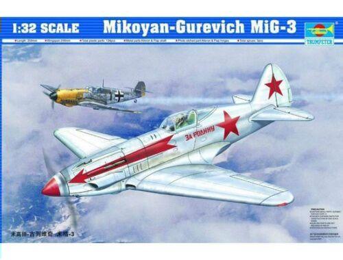 Trumpeter Mikoyan-Gurevich MiG-3 1:32 (02230)