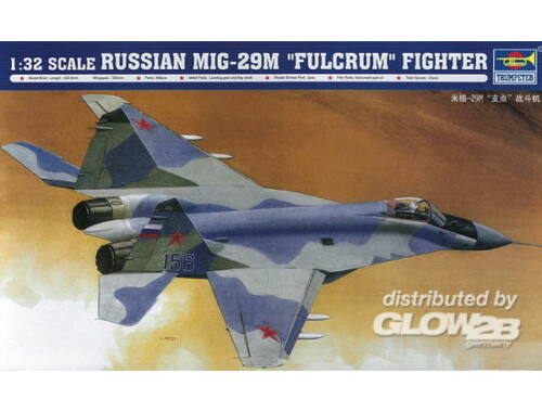 Trumpeter Russian MiG 29M Fulcrum Fighter 1:32 (2238)