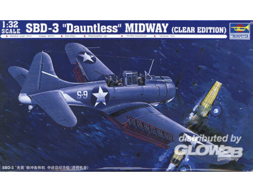 Trumpeter SBD-3 Dauntless Midway US Navy 1:32 (02244)