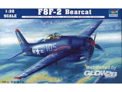 Trumpeter F8F-2 bearcat 1:32 (02248)