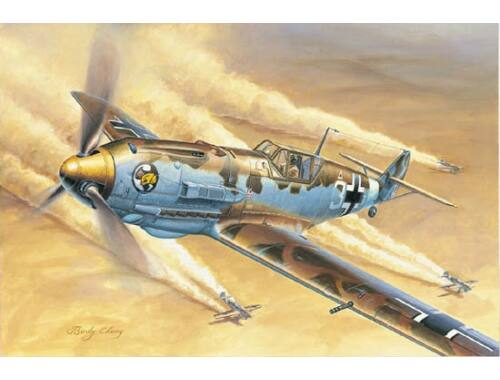Trumpeter Messerschmitt Bf 109E-4/Trop 1:32 (2290)