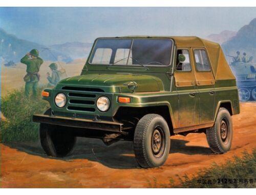 Trumpeter Chinesischer BJ212 Militär-Jeep 1:35 (02302)
