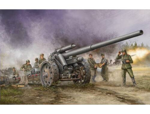 Trumpeter German s.10cm K.18 Cannon 1:35 (02305)
