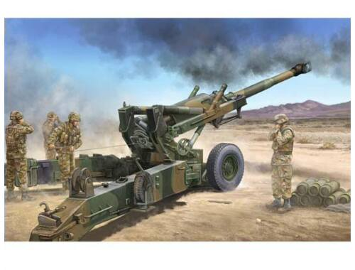 Trumpeter US M198 155mm Medium Towed Howitzer Early Version 1:35 (02306)