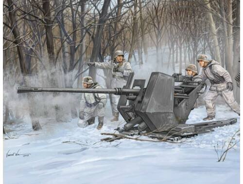 Trumpeter FLAK 37 (German 3.7cm anti-aircraft gun) 1:35 (02310)