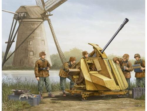 Trumpeter FLAK 43 (German 3.7cm anti-aircraft gun) 1:35 (02311)
