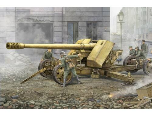 Trumpeter German 128mm Pak44 (Krupp) 1:35 (02317)