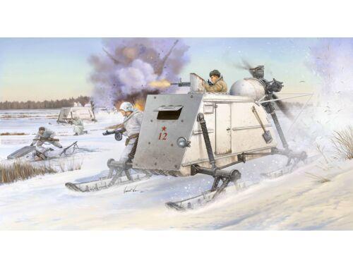 Trumpeter Soviet NKL-26 Armoured Aerosan 1:35 (02321)