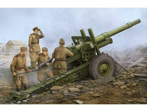 Trumpeter Soviet ML-20 152mm Howitzer M-46 Carriag 1:35 (02324)