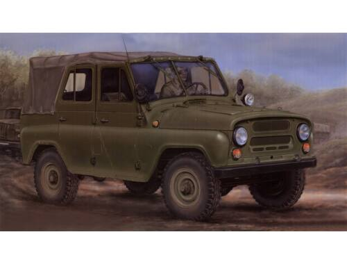 Trumpeter Soviet UAZ-469 All-Terrain Vehicle 1:35 (2327)