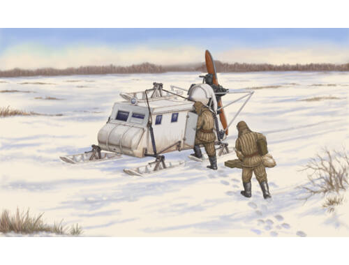 Trumpeter Soviet NKL-16 Armoured Aerosan 1:35 (2337)