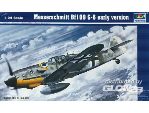 Trumpeter Messerschmitt Bf 109 G-6 frühe Version 1:24 (02407)