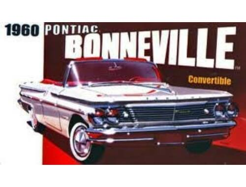 Trumpeter 1960 Pontiac Bonneville Convertible 1:25 (2501)