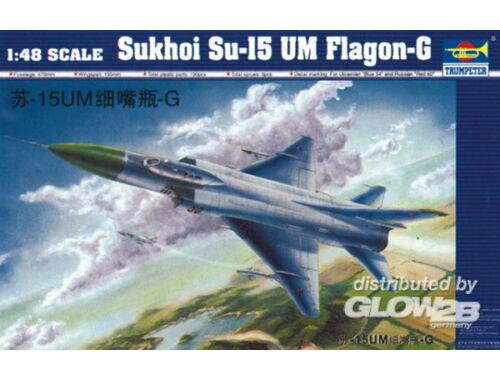 Trumpeter Sukhoi Su-15 UM Flagon F 1:48 (2812)