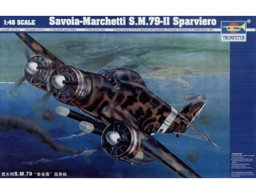 Trumpeter Savoia Marchetti SM-79 II Sparviero 1:48 (02817)