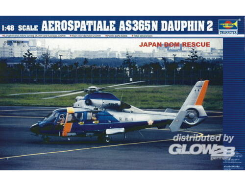 Trumpeter AS 365 N Dauphin 2 1:48 (2818)
