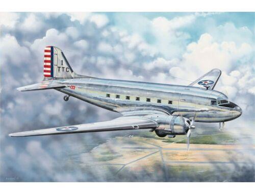 Trumpeter C-48C Skytrain Transport Aircraft 1:48 (2829)