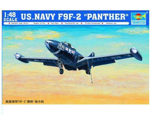 Trumpeter F9F-2 ''Phanter'' US Navy 1:48 (2832)