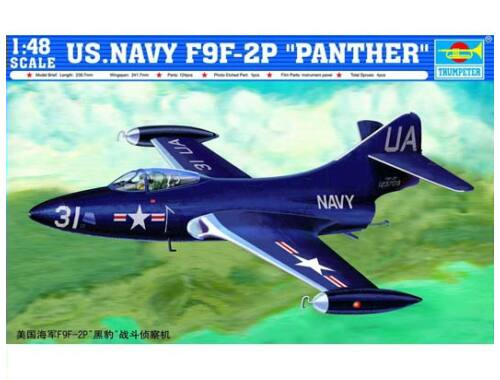 Trumpeter F9F-2P ''Phanter'' US Navy 1:48 (2833)