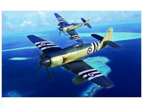 Trumpeter Hawker Sea Fury FB.11 1:48 (2844)