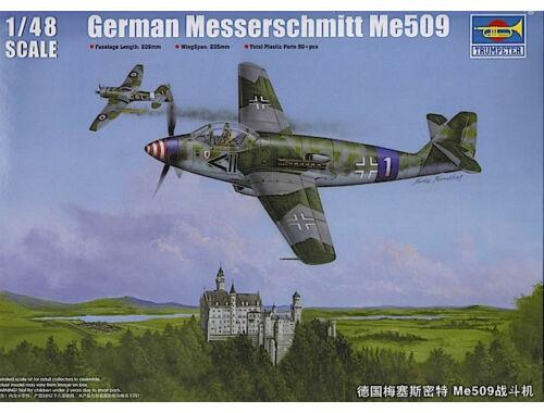 Trumpeter German Messerschmitt Me509 Fighter 1:48 (2849)