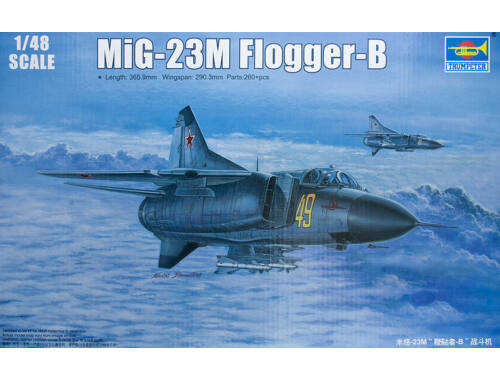 Trumpeter Russian MiG-23M Flogger-B 1:48 (02853)