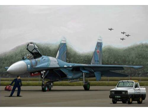 Trumpeter Russian SU-27 Flanker B 1:144 (03909)