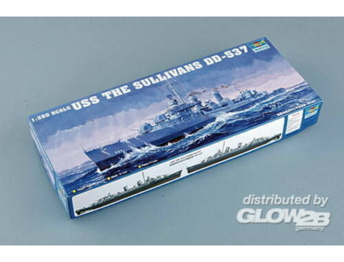 Trumpeter USS The Sullivans 1:350 (5304)