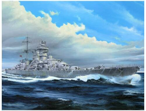 Trumpeter German cruiser Prinz Eugen 1945 1:350 (5313)