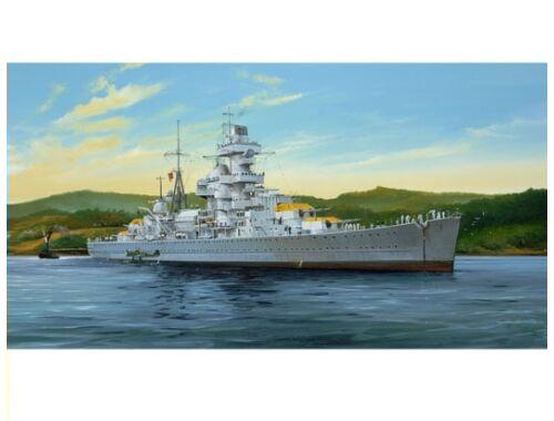 Trumpeter German Cruiser Admiral Hipper 1941 1:350 (5317)