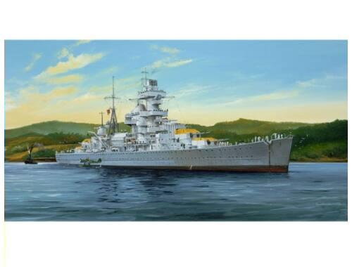 Trumpeter German Cruiser Admiral Hipper 1941 1:350 (5317)