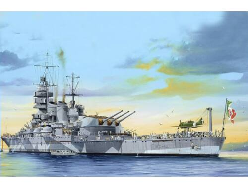 Trumpeter Italian Navy Battleship RN Roma 1:350 (05318)